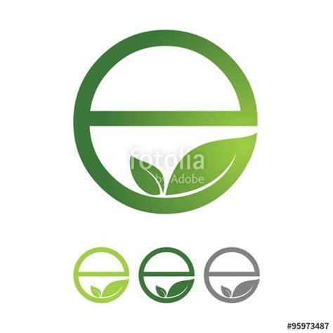 design icon kandivali east quot circle eco e green design logo icon quot immagini e