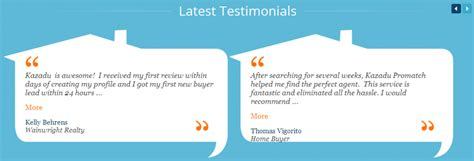 Real Estate Testimonial Exles For Lead Generation Real Estate Review Template