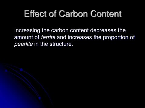 carbon content steel ppt ferrous metallurgy the chemistry and structure of