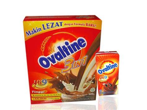 Ovaltine 3in1 Sachets 10 merk coklat bubuk untuk minuman yang paling enak