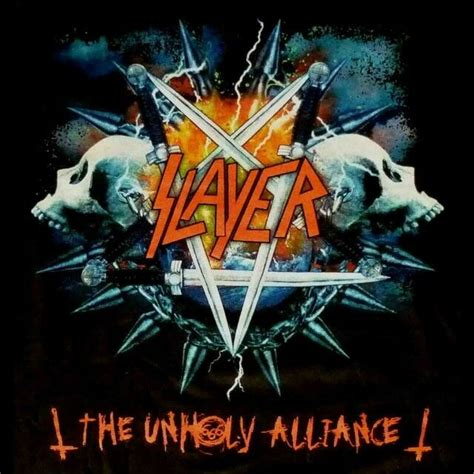 Unholy Alliance slayer unholy alliance concert t shirt ebay