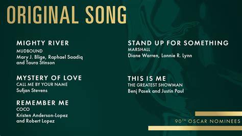 song original listen to all five original song oscar nominees awardswatch