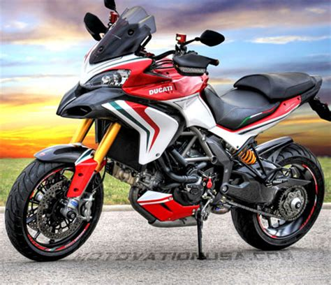 Ducati Corse Sticker Set by Motovation Frame Sliders And Accessories Shopping
