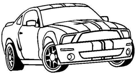 coloring pictures of mustangs cars mustang car coloring pages many interesting cliparts