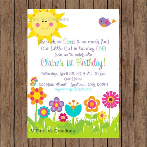image gallery spring invitations