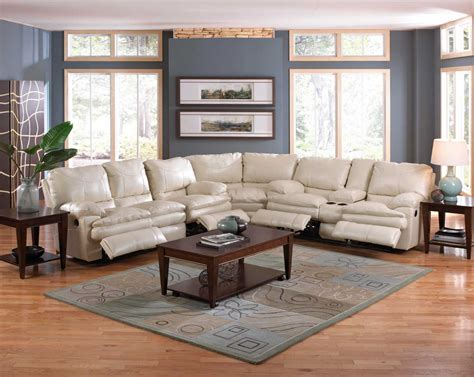Catnapper Perez Power Reclining Sectional Sofa Set Ice Catnapper Sectional Sofa
