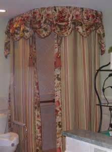 Shower Curtains With Valances Choosing The Best Shower Valances That Coordinates With Your Bathroom Decor Home Design Gallery