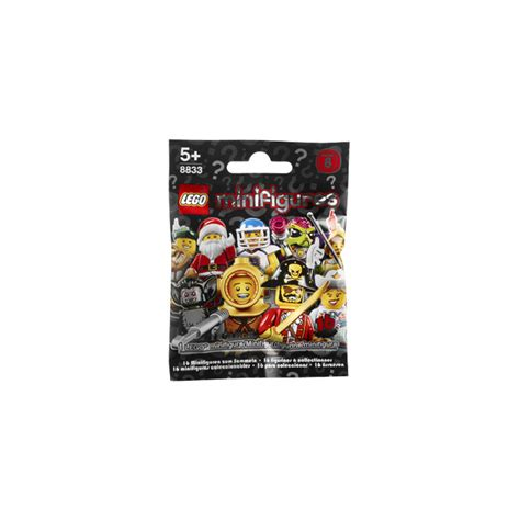 Lego 8833 Minifigures Serie 8 Complete Set 16 Pcs lego series 8 minifigure random bag set 8833 0 brick owl lego marketplace