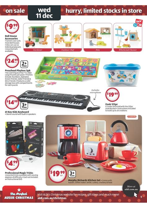 aldi 2013 christmas gifts catalogue page 5
