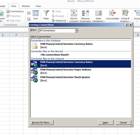 excel tutorial uk currency rates automatically updated in your spreadsheet