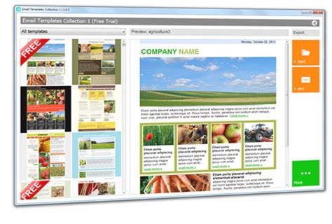 free newsletter layout software download email templates or mailstyler newsletter creator