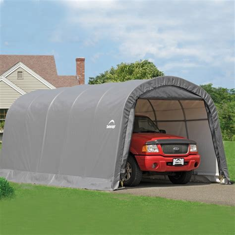 Shelter Garage In A Box by Shelterlogic 12 X20 Canvas Auto Shelter Garage In