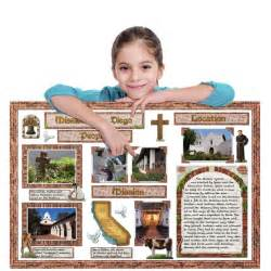 California missions design your california missions school project