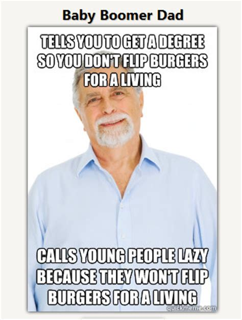 Baby Boomer Meme - ramen noodle nation baby boomer dad