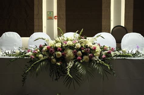 Top Table Flowers & Decorations   Beau Blush Events