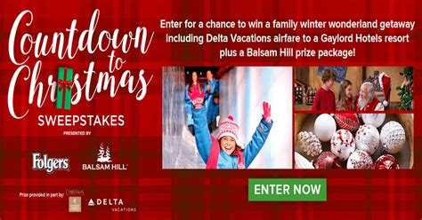 Hallmark Sweepstakes - 2017 hallmark channel countdown to christmas sweepstakes winzily