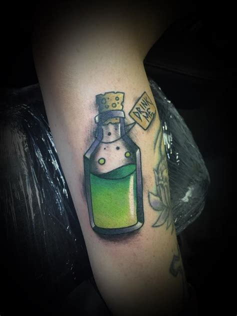 poison bottle tattoo poison bottle by talbert davenport tattoonow