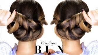 hair style 3 minute elegant bun hairstyle every girl doesn t already
