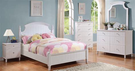 bedroom sets for less coaster bethany bedroom set white 400681 bed set at homelement