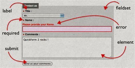 html quick form tutorial php html quickform2 prosoxi com