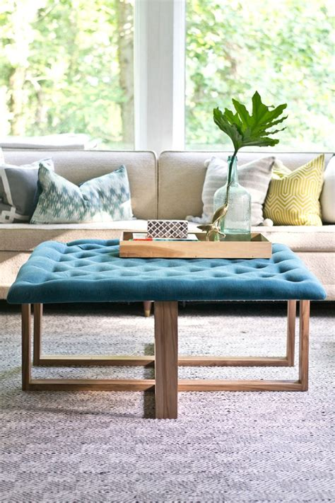 build  tufted ottoman coffee table ehow