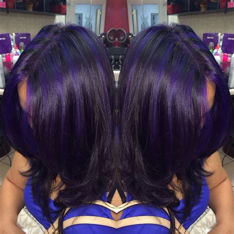 find pictures of hair with hi lights over 60 years of age all over purple highlights yelp
