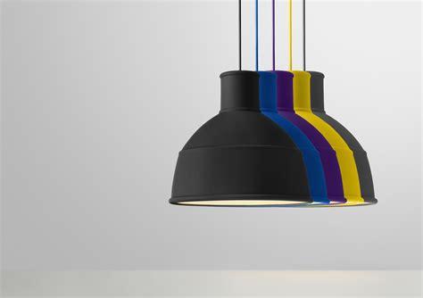 Unfold pendant silicone black by muuto