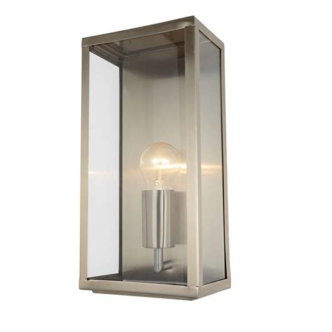 stainless steel outdoor lights mersey outdoor lantern wall light stainless steel from