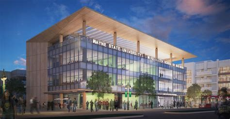 Wayne State College Mba by Wsu Business School Rolls Out New Rendering At Project