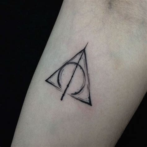 10 subtle harry potter tattoos only true potterheads will