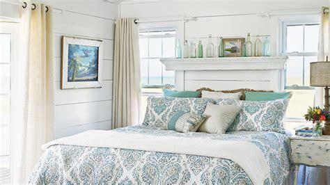 ideas  blue bedrooms coastal living