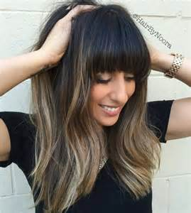 highlights for black hair and layered for 50 10 super fresh hairstyles for brown hair with caramel