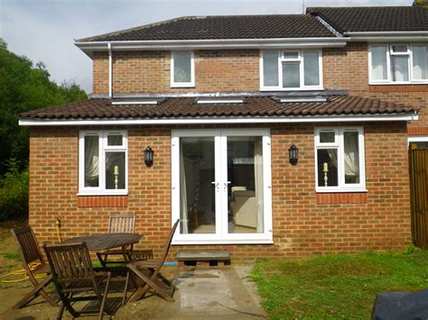 Single Floor Extension two storey and a single storey house extension