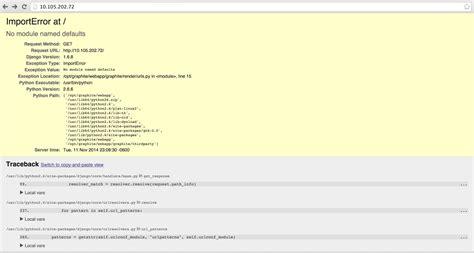 django tutorial no module named apps no module named defaults python django stack overflow