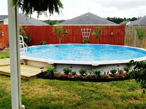 backyard above ground pools pool backyard ideas with above ground pools deck shed