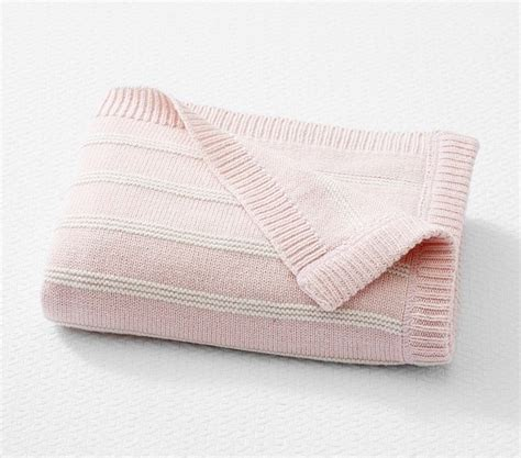 sweet baby blankets to knit 29 blankets to knit books sweet stripe knitted baby blanket pottery barn