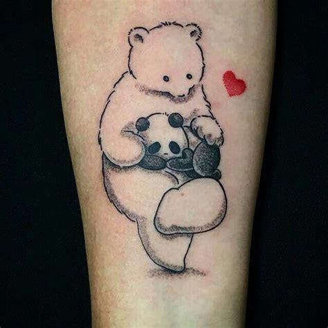 Tattoo De Panda Feminina | trabalho fofo da tatuadora carol mariath amamos demais
