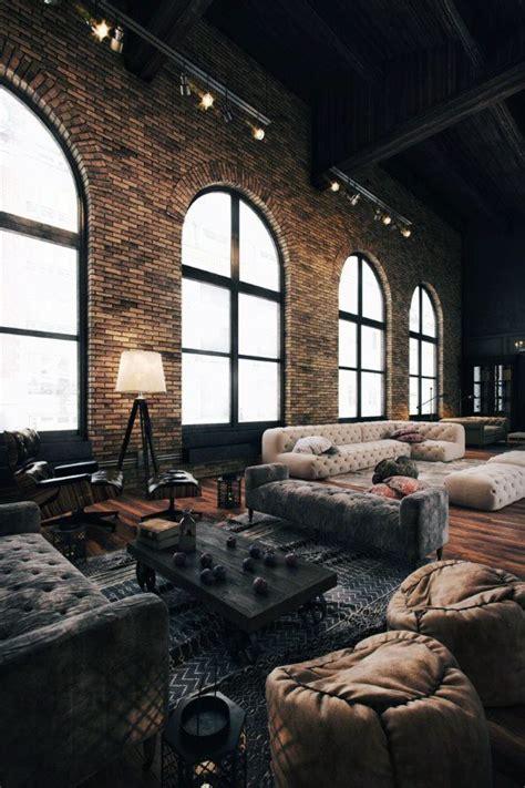 top   industrial interior design ideas raw decor