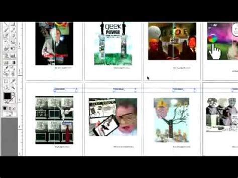pdf portfolio layout erstellen make a pdf portfolio youtube
