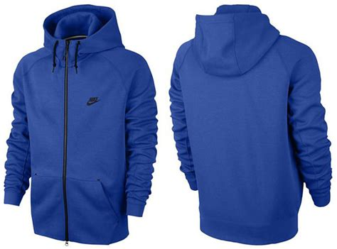Hoodie Sweater Dirt Rally Navy Front Logo blue nike sweaters