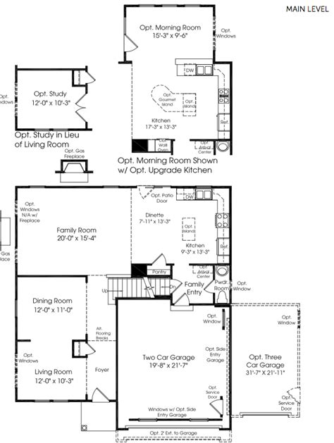 ryan homes genevieve floor plan ryan homes house plans