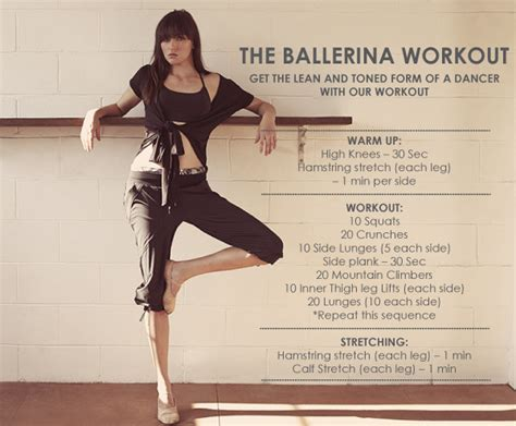 lifestyle recipes the ballerina workout