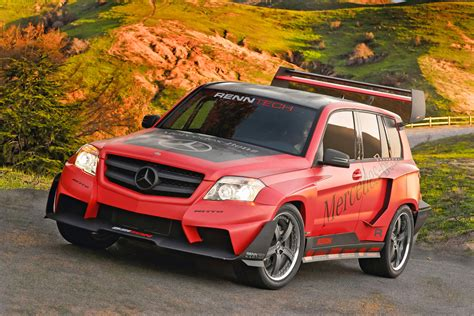 mercedes rally renntech mercedes benz glk pikes peak rally racer