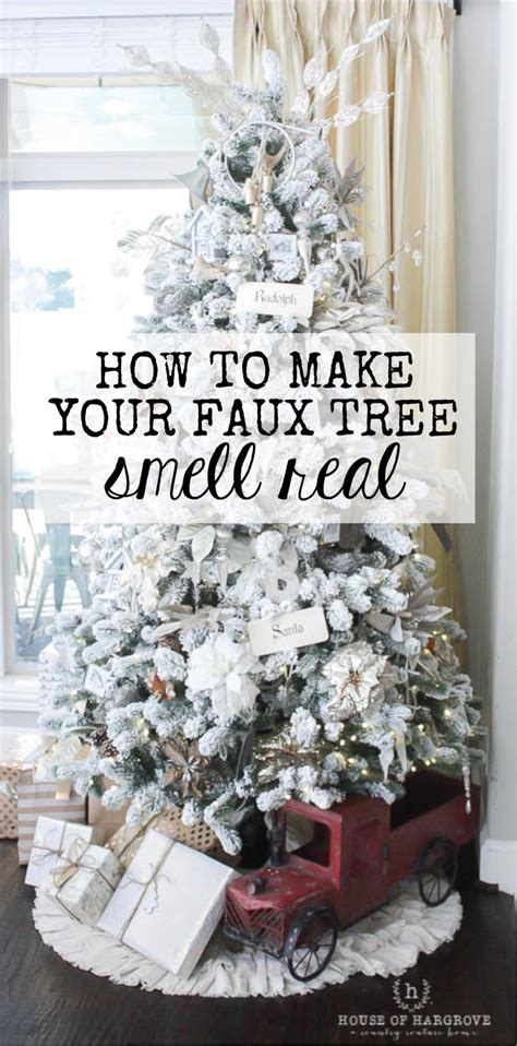 tricks for the perfect christmas tree looks lights scents