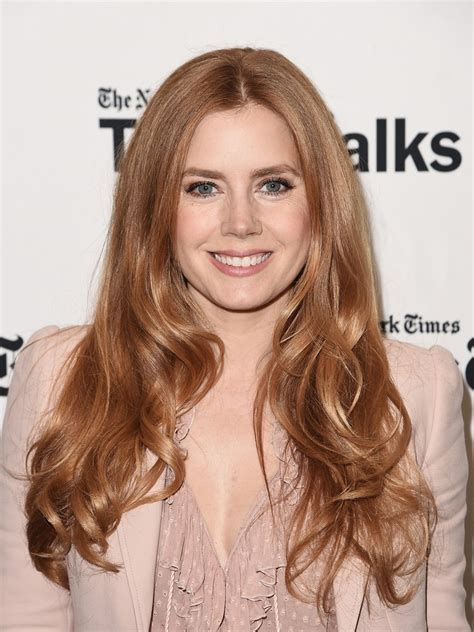 How Amy Adams's Red Hair Made Her Successful   Allure