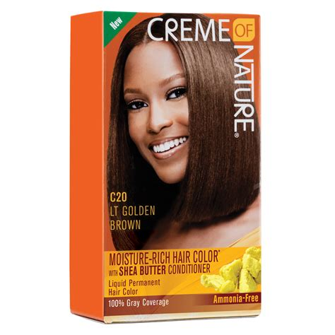 creme of nature hair colors creme of nature moisture rich hair color light golden brown