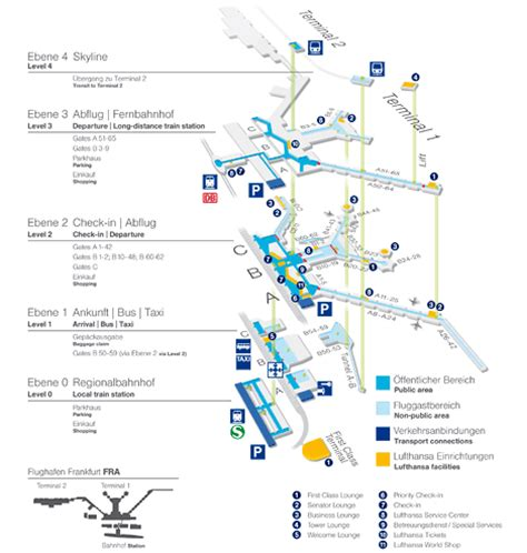 frankfurt airport map image gallery lufthansa frankfurt airport map