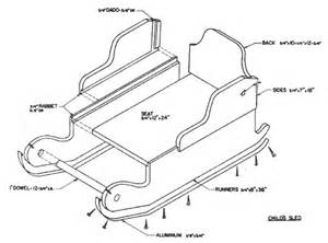 sle blueprints pdf diy sled plans download stanley plane irons