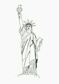 statue of liberty coloring page statue of liberty coloring pages free printable pictures