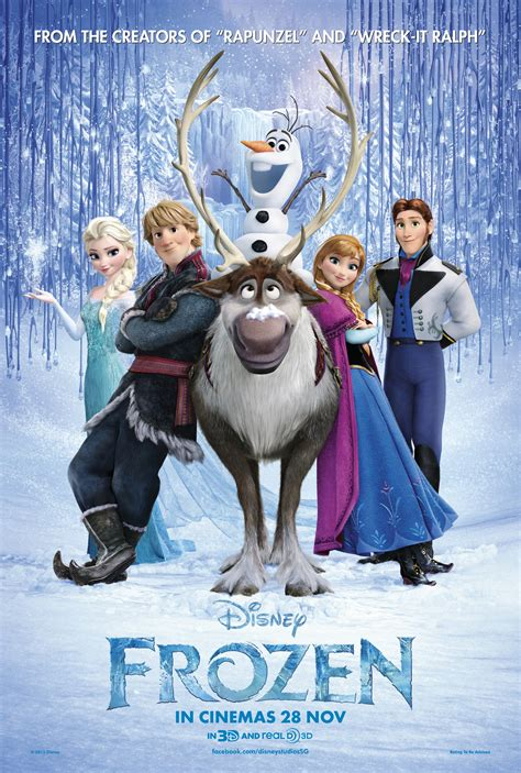 frozen film poster a spoiler free movie review of disney s frozen 2013
